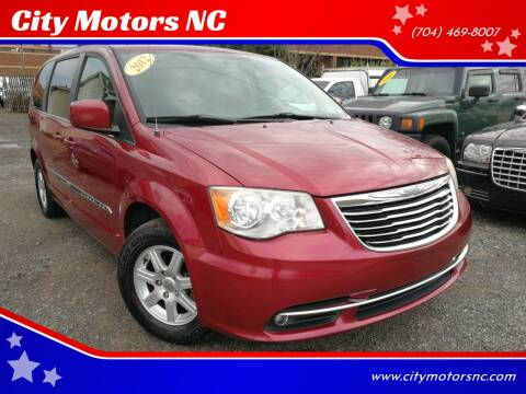 2012 Chrysler Town and Country for sale at City Motors NC in Charlotte NC