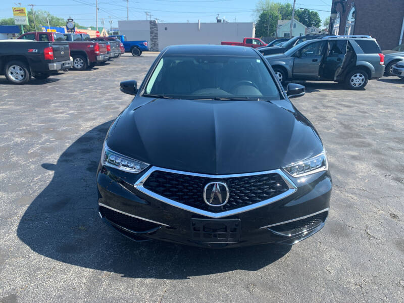 2018 Acura TLX for sale at L.A. Automotive Sales in Lackawanna NY