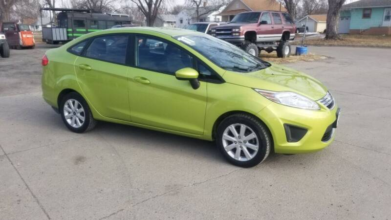 2011 Ford Fiesta for sale at ALEMAN AUTO INC in Norfolk NE