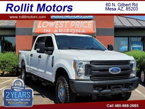 2019 Ford F-250 Super Duty for sale at Rollit Motors in Mesa AZ