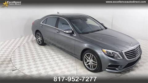 2017 Mercedes-Benz S-Class for sale at Excellence Auto Direct in Euless TX
