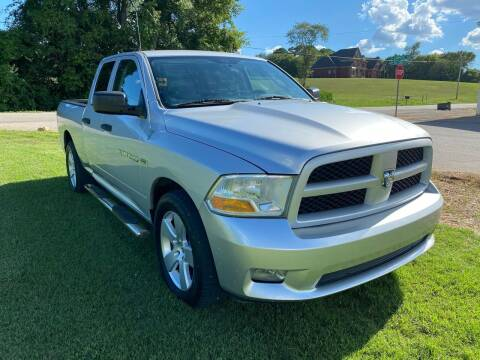 2012 RAM Ram Pickup 1500 for sale at Tennessee Valley Wholesale Autos LLC in Huntsville AL