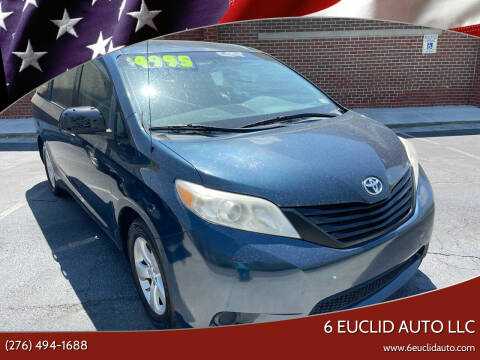 2011 Toyota Sienna for sale at 6 Euclid Auto LLC in Bristol VA