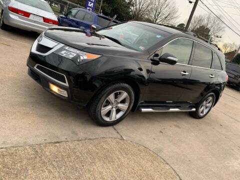 2011 Acura MDX for sale at Whites Auto Sales in Portsmouth VA