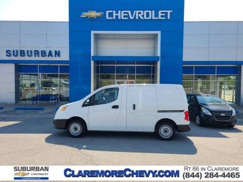 2015 Chevrolet City Express Cargo for sale at Suburban Chevrolet in Claremore OK
