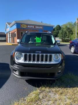 2016 Jeep Renegade for sale at GENE AND TONYS DEMOTTE AUTO SALES in Demotte IN
