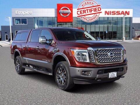 2017 Nissan Titan XD for sale at EMPIRE LAKEWOOD NISSAN in Lakewood CO