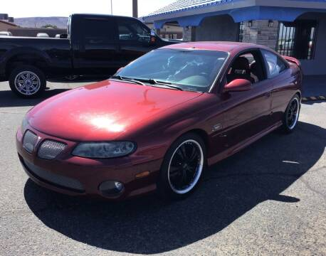 2004 Pontiac GTO for sale at SPEND-LESS AUTO in Kingman AZ