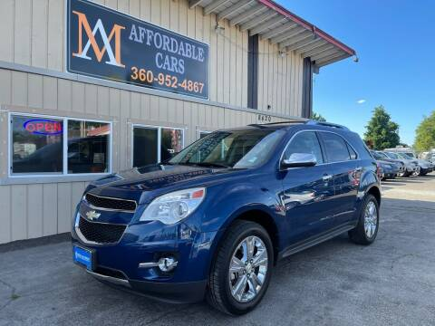 2010 Chevrolet Equinox for sale at M & A Affordable Cars in Vancouver WA
