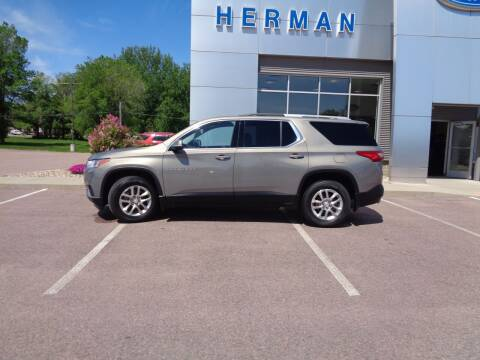 2018 Chevrolet Traverse for sale at Herman Motors in Luverne MN