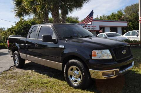 2005 Ford F-150 for sale at STEPANEK'S AUTO SALES & SERVICE INC. in Vero Beach FL
