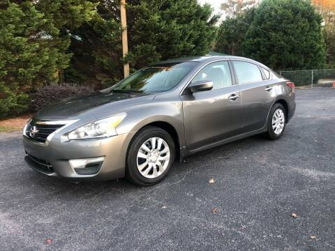 2015 Nissan Altima for sale at GTO United Auto Sales LLC in Lawrenceville GA