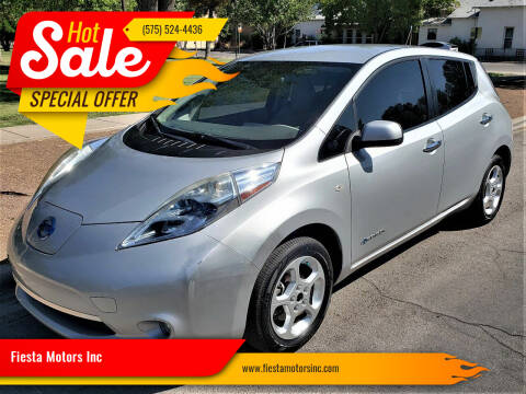 2012 Nissan LEAF for sale at Fiesta Motors Inc in Las Cruces NM