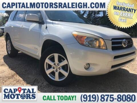 2007 Toyota RAV4 for sale at Capital Motors in Raleigh NC