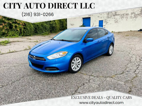 2015 Dodge Dart for sale at City Auto Direct LLC in Cleveland OH