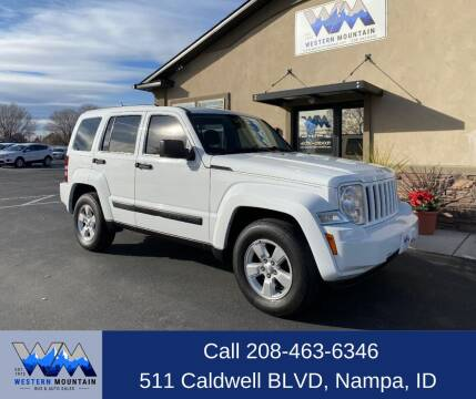 2012 Jeep Liberty for sale at Western Mountain Bus & Auto Sales in Nampa ID