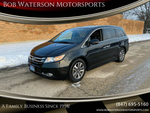 2014 Honda Odyssey for sale at Bob Waterson Motorsports in South Elgin IL