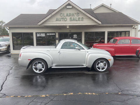 2004 Chevrolet SSR for sale at Clarks Auto Sales in Middletown OH