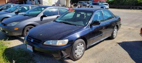2001 Honda Accord for sale at AMAZING AUTO SALES in Marengo IL