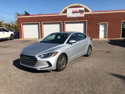2017 Hyundai Elantra for sale at Family Auto Finance OKC LLC in Oklahoma City OK