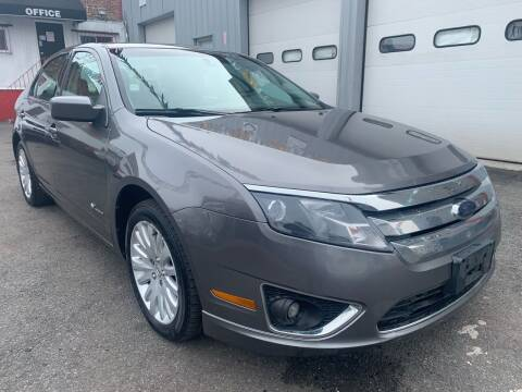 2010 Ford Fusion Hybrid for sale at Gallery Auto Sales in Bronx NY