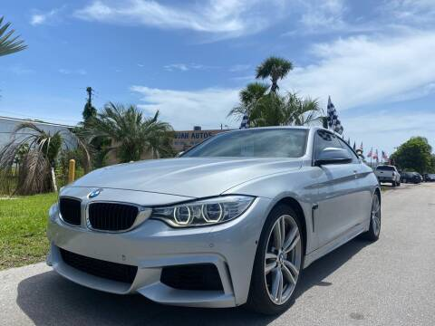 2014 BMW 4 Series for sale at GCR MOTORSPORTS in Hollywood FL