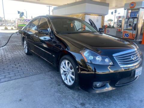 2008 Infiniti M45 for sale at Bell Auto Inc in Long Beach CA
