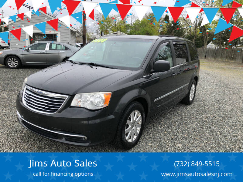 2012 Chrysler Town and Country for sale at Jims Auto Sales in Lakehurst NJ