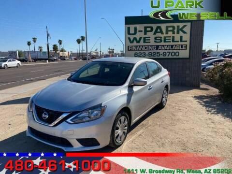 2018 Nissan Sentra for sale at UPARK WE SELL AZ in Mesa AZ