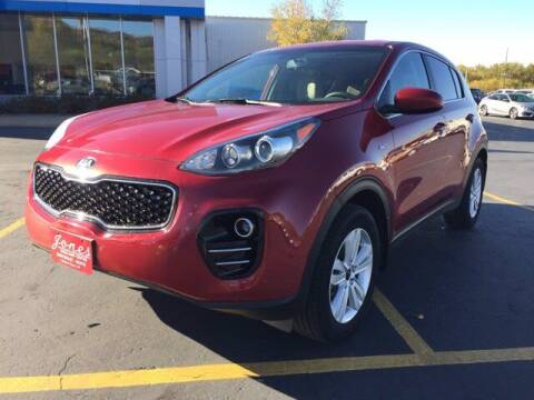 2018 Kia Sportage for sale at Jones Chevrolet Buick Cadillac in Richland Center WI