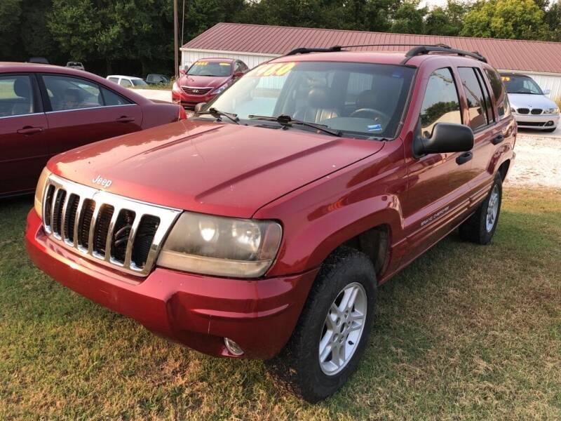 2004 Jeep Grand Cherokee for sale at R.E.D. Auto Sales LLC in Joplin MO