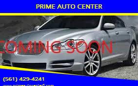 2011 Jaguar XF for sale at PRIME AUTO CENTER in Palm Springs FL