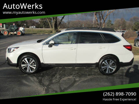 2018 Subaru Outback for sale at AutoWerks in Sturtevant WI