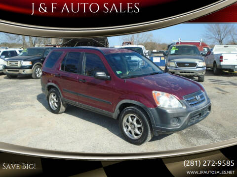 2006 Honda CR-V for sale at J & F AUTO SALES in Houston TX
