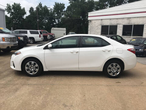 2016 Toyota Corolla for sale at Northwood Auto Sales in Northport AL