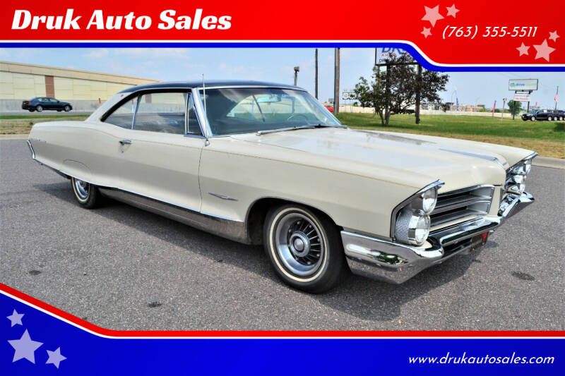 1965 Pontiac Bonneville for sale at Druk Auto Sales in Ramsey MN