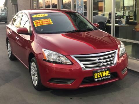 2014 Nissan Sentra for sale at Devine Auto Sales in Modesto CA