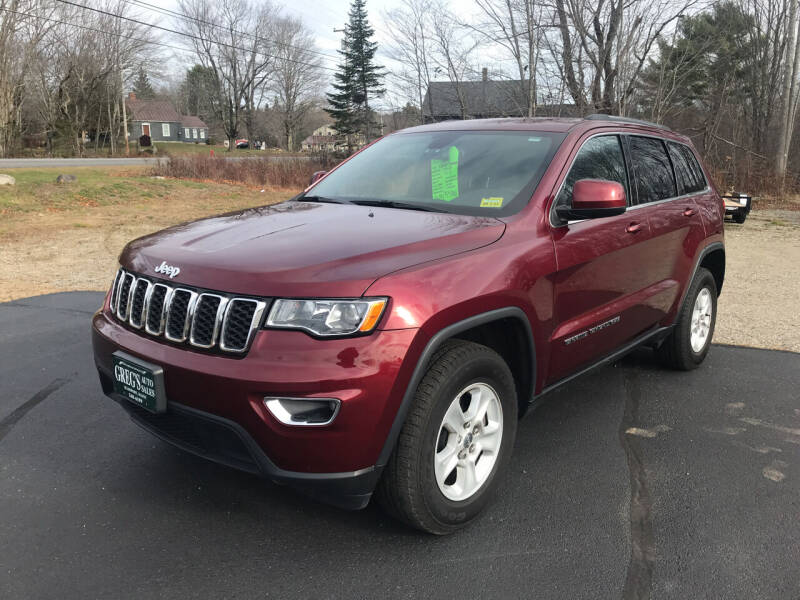2017 Jeep Grand Cherokee for sale at Greg's Auto Sales in Searsport ME