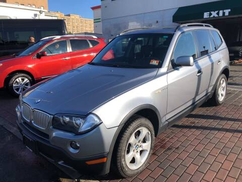 2007 BMW X3 for sale at DEALS ON WHEELS in Newark NJ