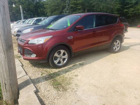 2014 Ford Escape for sale at Northwoods Auto & Truck Sales in Machesney Park IL