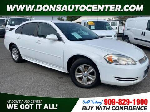 2013 Chevrolet Impala for sale at Dons Auto Center in Fontana CA