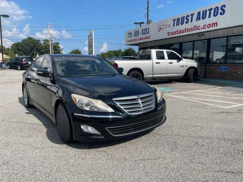 2012 Hyundai Genesis for sale at Trust Autos, LLC in Decatur GA