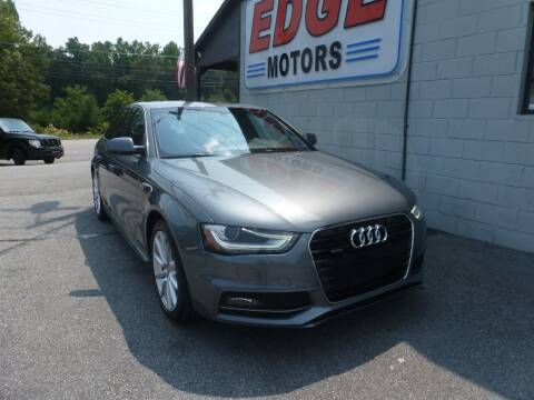 2016 Audi A4 for sale at Edge Motors in Mooresville NC