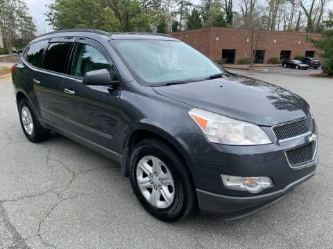 2011 Chevrolet Traverse for sale at Triangle Motors Inc in Raleigh NC