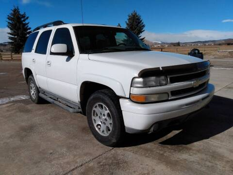 2006 Chevrolet Tahoe for sale at Kevs Auto Sales in Helena MT