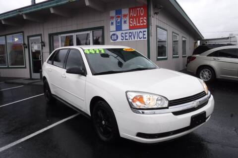 2004 Chevrolet Malibu Maxx for sale at 777 Auto Sales and Service in Tacoma WA