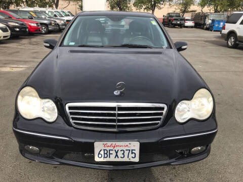 2007 Mercedes-Benz C-Class for sale at EXPRESS CREDIT MOTORS in San Jose CA