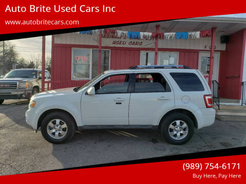 2011 Ford Escape for sale at Auto Brite Used Cars Inc in Saginaw MI
