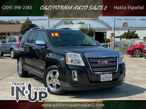 2013 GMC Terrain for sale at CALIFORNIA AUTO SALE 2 in Livingston CA