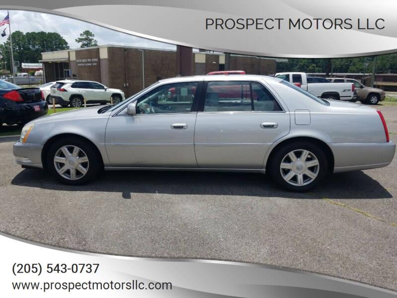 2007 Cadillac DTS for sale at Prospect Motors LLC in Adamsville AL